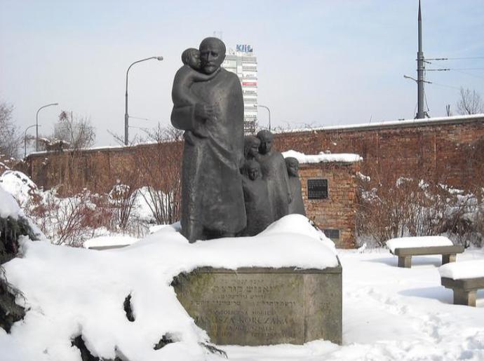 Janusz Korzak mémorial Varsovie