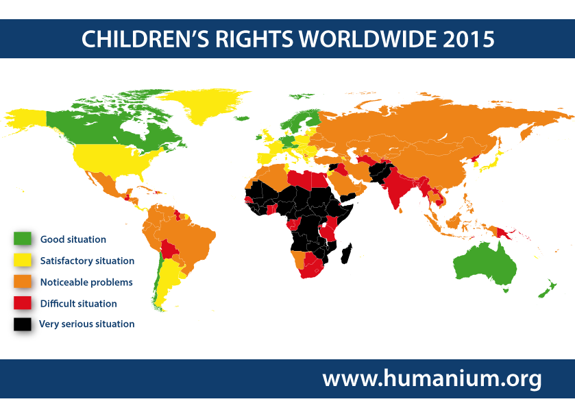 "ium publishes the ""Map of Global Children's Rights 2015 ... on world religion map, big world map, most beautiful map, world language families map, 1910s world map, global world map, cold desert world map, old world map, rivers on world map, red sea on world map, america centered world map, spanish world map, cute world map, m world map, world political map, andes mountains on world map, tectonic plate boundaries world map, world time zone map, detailed world atlas map,"