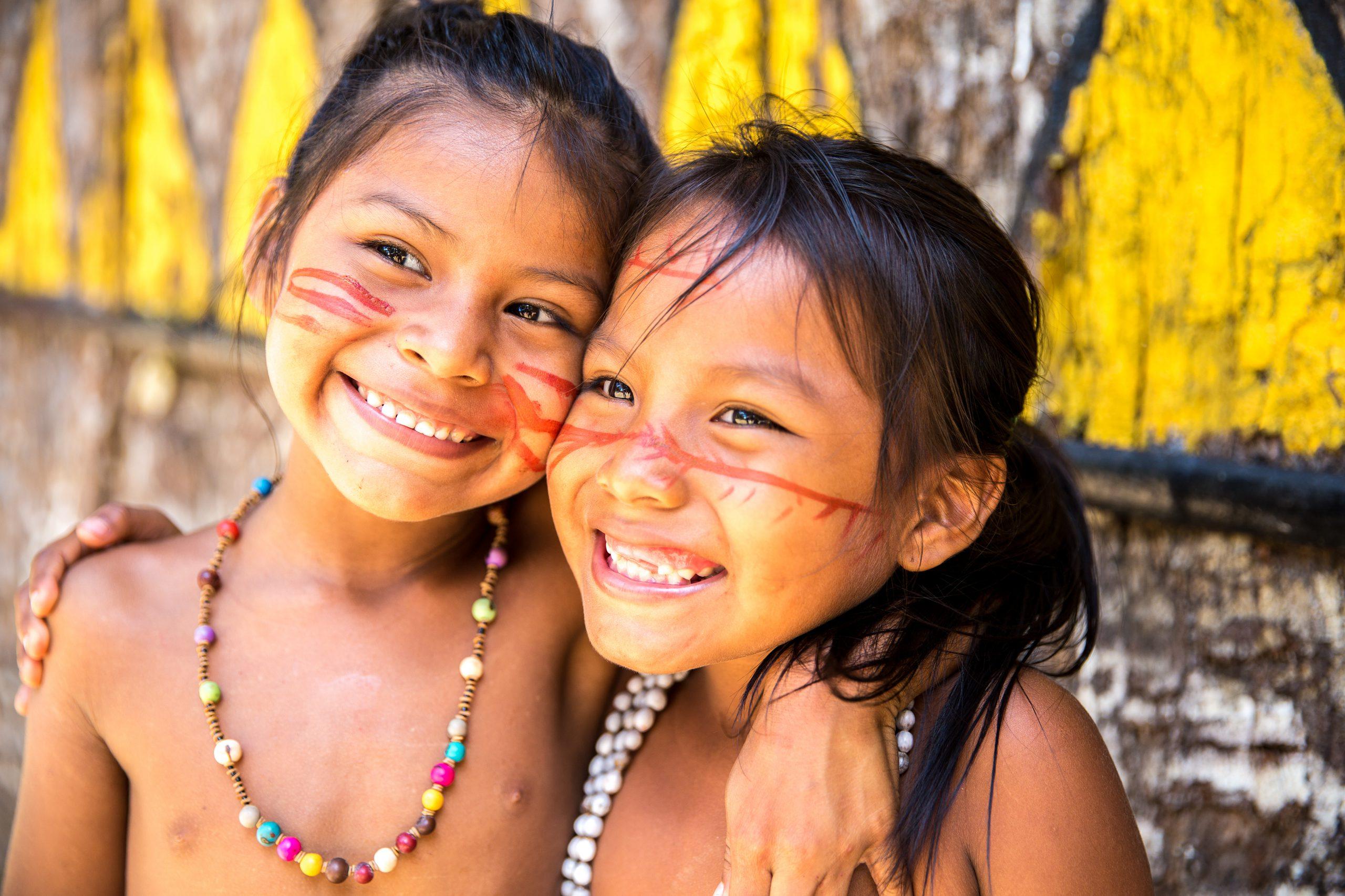 Beautiful naked native american women
